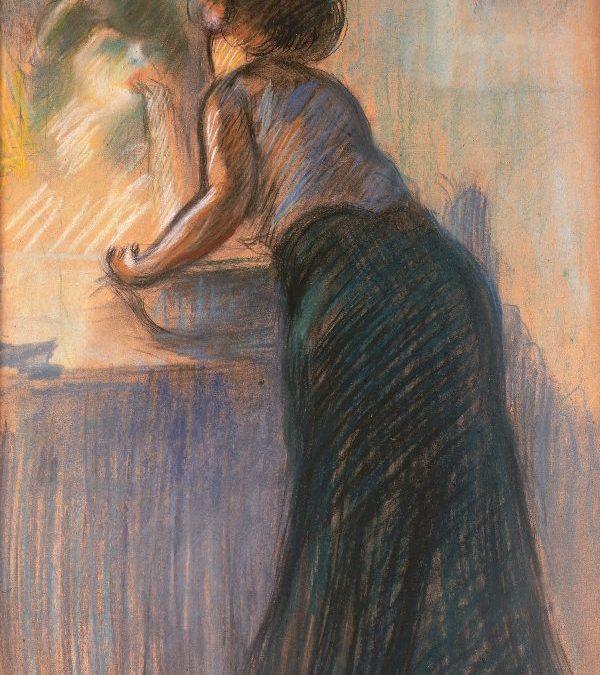 Dona davant el mirall