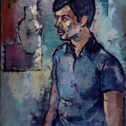 Retrat del fill de l'autor, Lleonard Bech