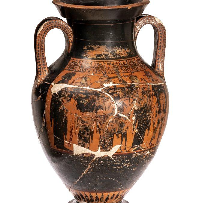 Àmfora de ceràmica àtica de figures roges