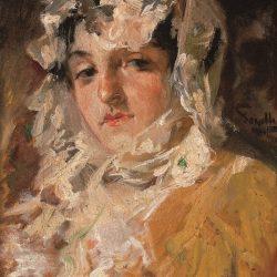 Retrat de senyora amb mantellina