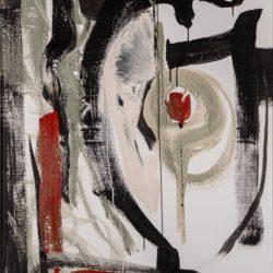 Composició abstracta. Rosa tripètal