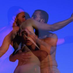 "Espectacle de dansa ""Punteggio Per Due Corpe 75/50"" amb Rober Gómez i Virginia Gimeno"