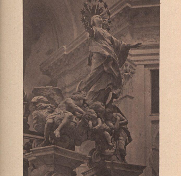"""Reproducció de l'obra """"Immaculada"""""""