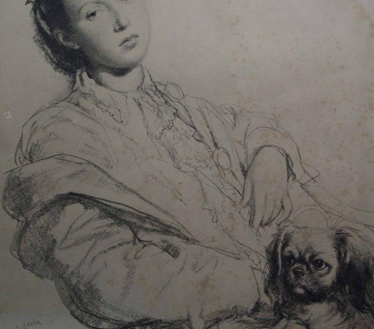 Noia i gos