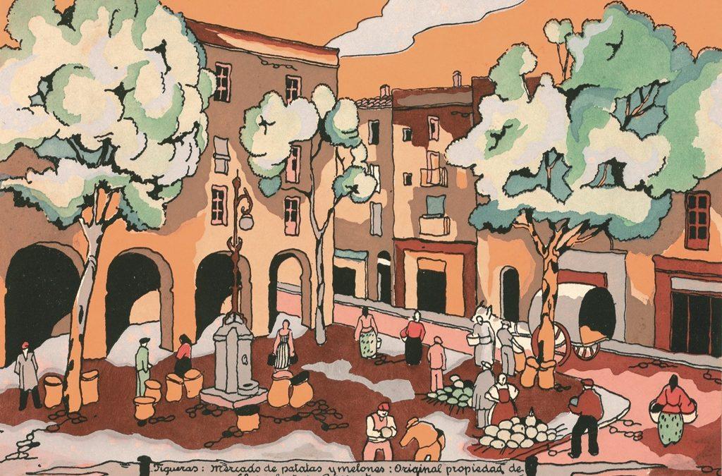 Plaça de les Patates de Figueres